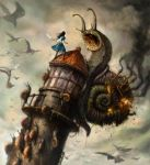 Alice and the Snails by Civil-D
