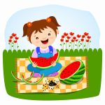 Keep calm and eat watermelon! by PixyPen