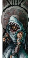 Shark Cultist by FredHooper