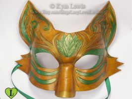 Forest Fox Mask by LucyLovesLeather