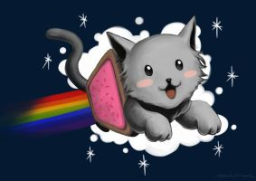 Nyan Cat by Taytina