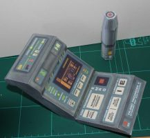 Medical Tricorder - Star Trek Voyager by SarienSpiderDroid