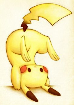 Pika Down Side Up by PandaAGoGo