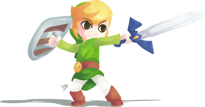 -Wind Waker Link- by Lady-of-Link
