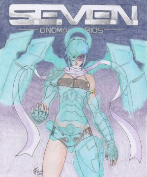Seven cover contest: One with the machine by IgnusTheTrickster