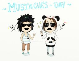 Mustaches by HimeChie