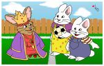 Various Cartoons - Little Janet, Max and Ruby by kalahee