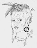 Memory: Barbarian Girl by toroj