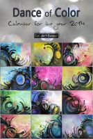 Dance of Color - Calendar by San-T