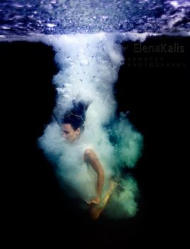 I am the water... by SachaKalis