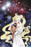 Sailor moon ( serenity ) - in the macrocosm by zelldinchit
