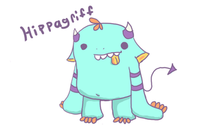 Hippagriff by Demheartssaixpuppy