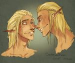 Sandor and Zevran by Fukari