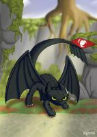 Toothless by Sokoya