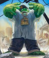 HULK SMASH by NIW