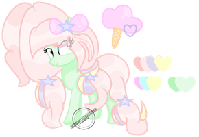 -New OC- Cotton Conflare by RainbowGamerMC