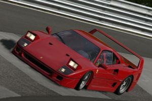 F40 in the nurburgring by nuttbag93