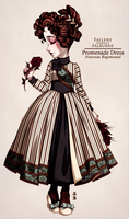 Fallene's Promenade Dress by Seitou