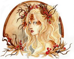 - Adalaria - Autumn portrait - by ooneithoo