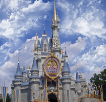 Cinderella Castle Anniversary by WDWParksGal-Stock