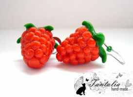 "Earrings ""Raspberries"" by Tantalia"