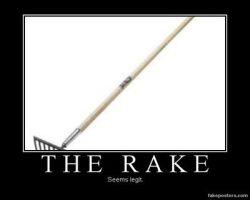The Rake by CupcakesSing