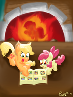 Apple Family Album by ChaoticDiscord