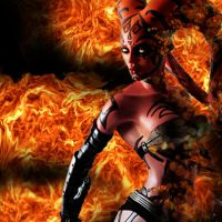 Goddess of Flame: Darth talon by SweetLittleAki