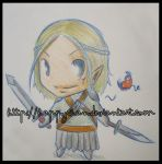 DA:O Chibi Zevran by HappyChan