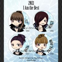 EkaniBadge: 2NE1 by AyumiNazu