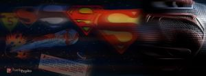 Evolution of an Icon: The Superman Shield by YodaMaker