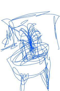 blind contour  by MagicJellyRock