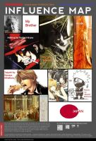 my influence map by atsumimag