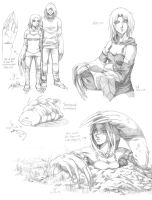 Starna sketches by mreviver