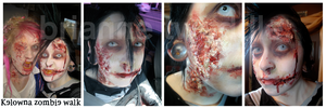 Zombie Walk Makeup by Neumorin