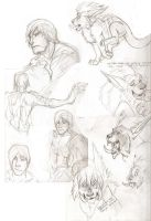WoW and DMC sketchdump by Ifus