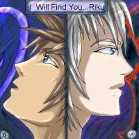 I Will Find You...Riku by kujakisses