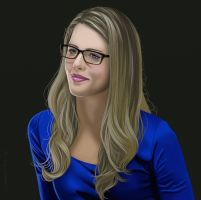 Felicity Smoak by garrypfc