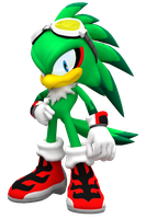 Jet the Hawk in Sonic World by Nibroc-Rock