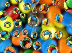 Colorful Drops 12 by flowerhippie22