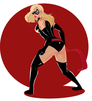 Ms Marvel by MAGAM88