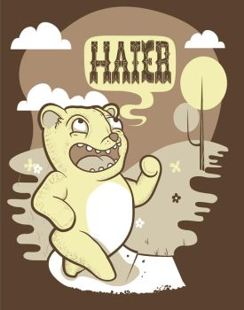 Haters by graphicamature2k06