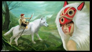 princess mononoke by psmonkey