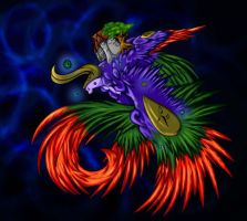 Bahamut Keeper of the Universe by UndeadKitty13