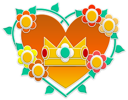 Daisy Flowers Emblem by RafaelMartins