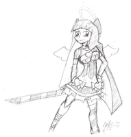 Daily Sketch 17: Stocking by ReluctantZombie