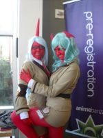Anime Banzai 2012 Scanty and Knee-Socks by spottedcloud123