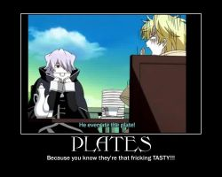 Xerxes Break: Plates by AmeaXx