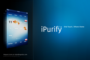 iPurify iPhone theme by hrace