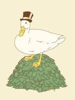 The Richest Duck In The World by the-lagz